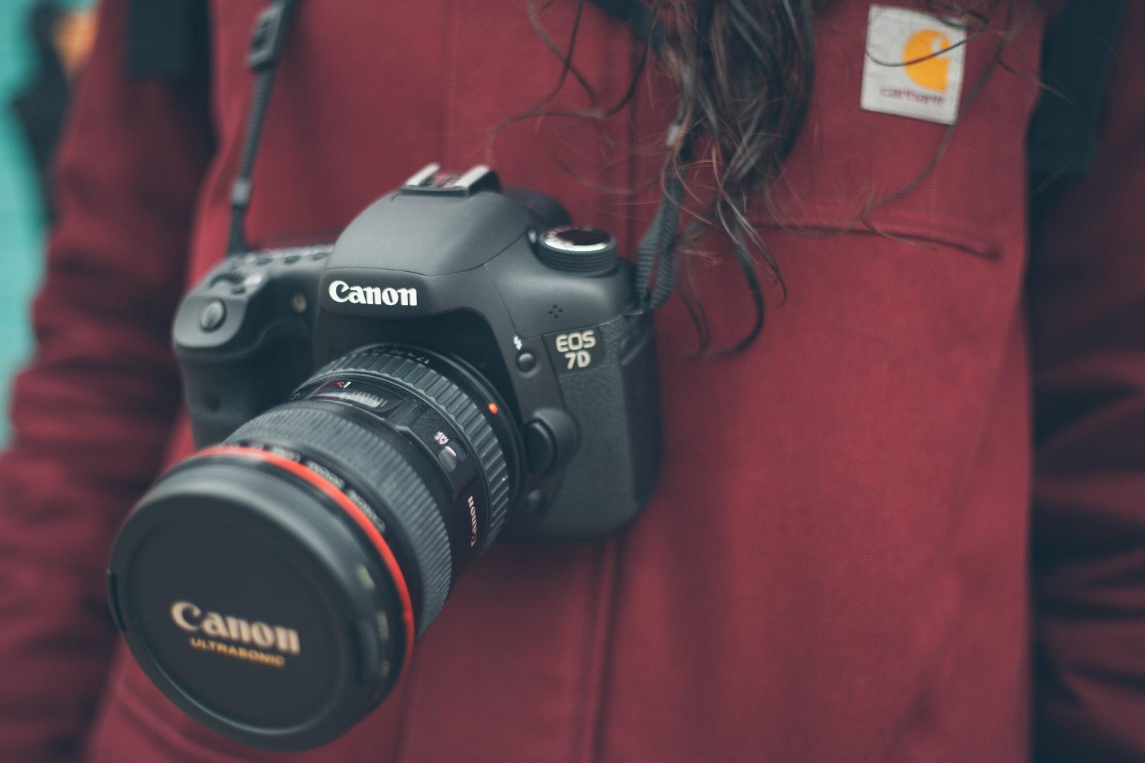 Fotografie mit der Kamera von Canon